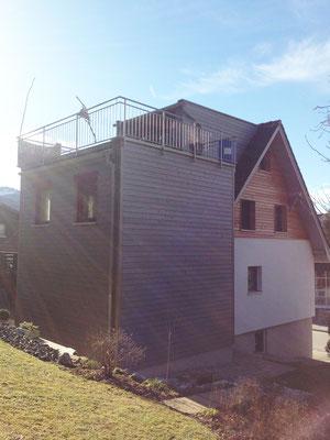 Anbau von zusätzlichen Wohnräumen an ein bestehendes Wohnhaus