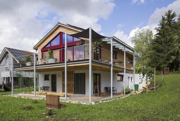 Neubau eines NaturPlusHaus - Einfamilienhaus