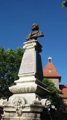 Stèle de Charles Seignobos - Lamastre - Ardèche - 07