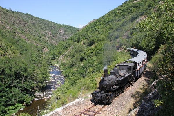 train de l'Ardèche dit le Mastrou -Lamastre - Ardèche 07