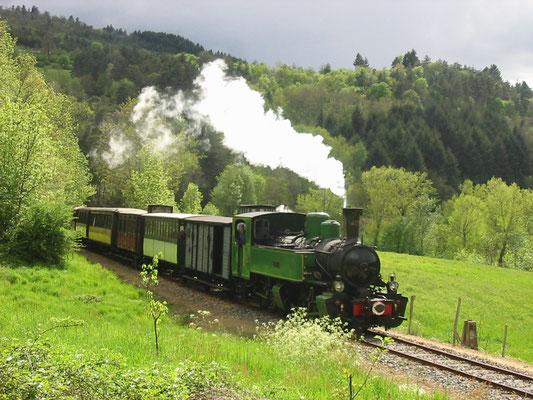 train touristique du Vivarais dit le Mastrou -Lamastre - Ardèche 07