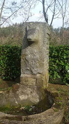 Fontaine tête de chien, Lamastre, route de Valence - Ardèche 07
