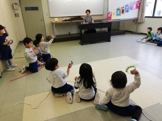 どれみ音楽教室 どれみらぼ 幼稚園 節分