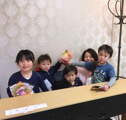 プレ・ピアノ発表会 どれみ音楽教室 田中由美子