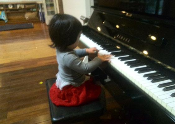 マンツーマンピアノリトミック 田中 由美子 どれみ音楽教室