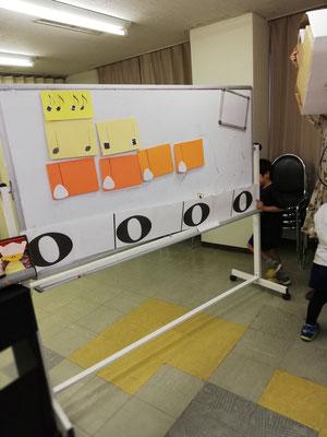 幼稚園 リトミック どれみ音楽教室 おにぎりおんぷ