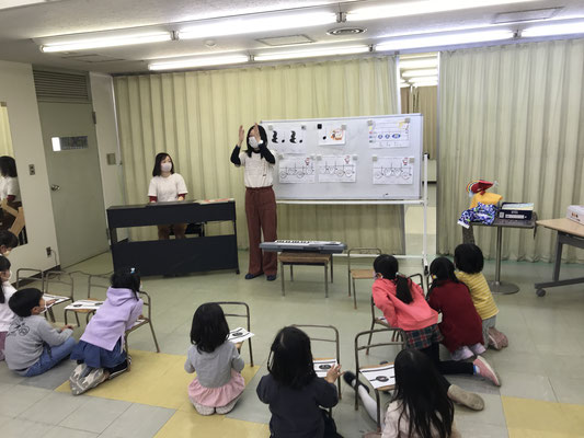 どれみLABO 幼稚園 リトミック クリスマス
