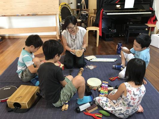 どれみ音楽教室 どれみらぼ 小学生 打楽器アンサンブル