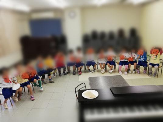 どれみ音楽教室 幼稚園 リトミック ハロウィン 年少