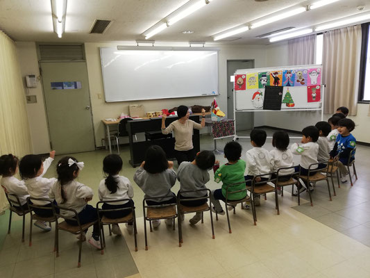 どれみ音楽教室 どれみらぼ 幼稚園 クリスマス リトミック
