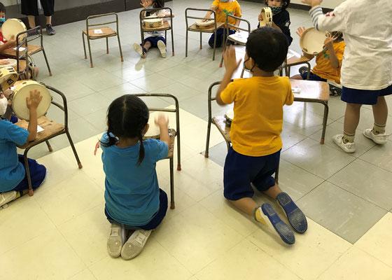 どれみLABO リトミック 幼稚園 みんなのどれみ しりとり