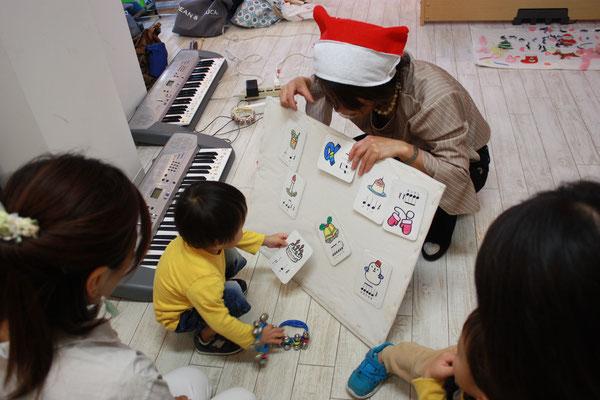 クリスマスリトミック どれみ音楽教室 江東区 田中由美子