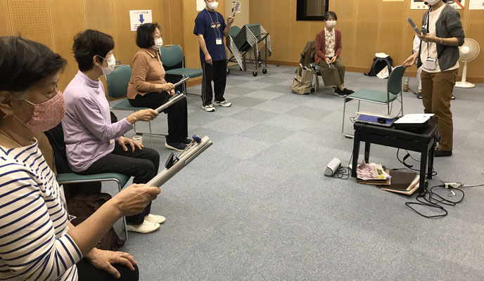 どれみLABO 音楽健康サロン 音楽療法 健康促進 介護予防 江東区