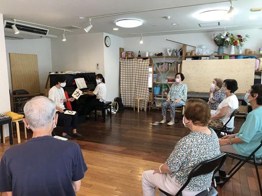 どれみLABO 音楽健康サロン 介護予防 健康促進 音楽療法