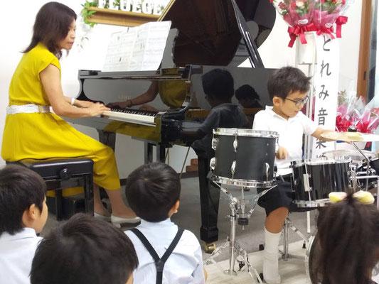どれみ音楽教室 どれみらぼ ドラム発表