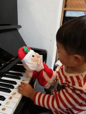 どれみ音楽教室 マンツーマンピアノリトミック クリスマス