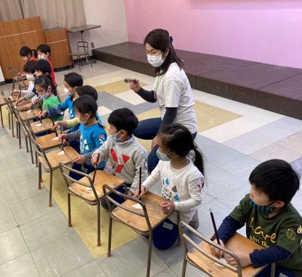 どれみLABO 幼稚園 リトミック お習字リトミック