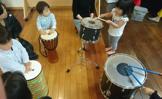 どれみ音楽教室 どれみランド 親子体操 リトミック 江東区
