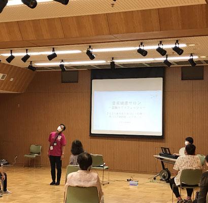どれみLABO 音楽健康サロン 高齢者 盆踊り 音楽療法 介護予防 江東区 深川江戸資料館