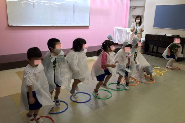 どれみLABO 幼稚園 リトミック 雨 みんなのどれみ