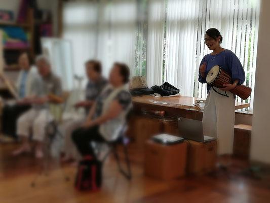 どれみ音楽教室 音楽健康サロン どれみ倶楽部 介護予防音楽活動