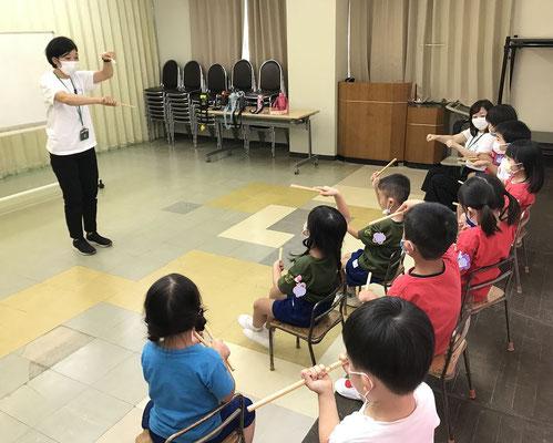どれみLABO リトミック 幼稚園 プレピアノ 江東区 みんなのどれみ