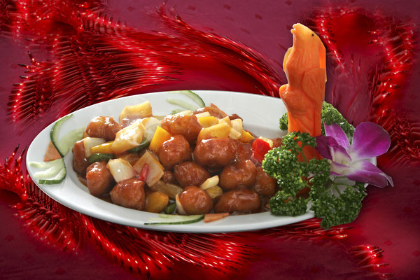 Chicken Sweet-and-Sour