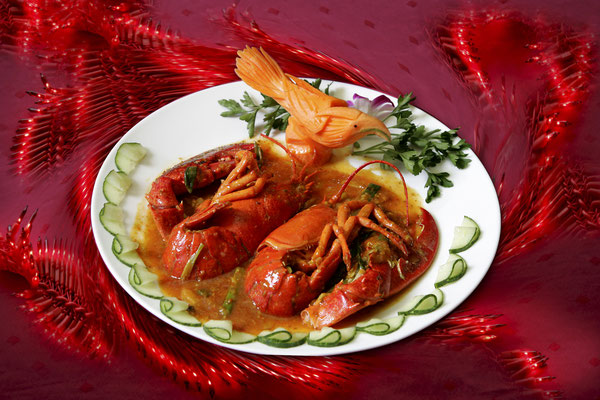 Lobster in Sambal Sauce