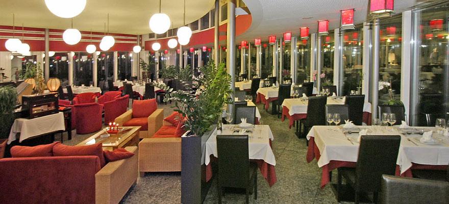 China Restaurant ZEN: Interior dining area