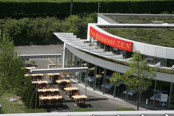 China Restaurant ZEN mit Gartenbereich