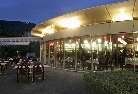 Evening atmosphere at China Restaurant ZEN