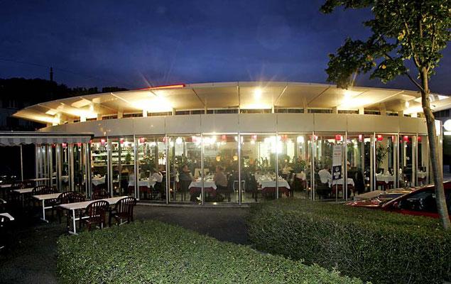 China Restaurant ZEN: Beleuchtung in der Nacht