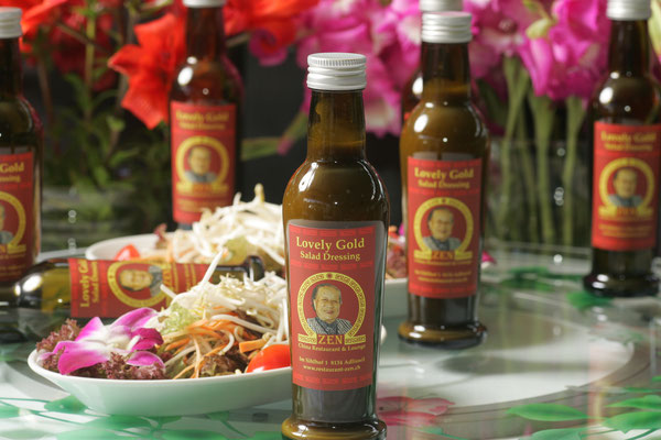 Our homemade salad dressing: Ai Jing - Lovely Gold