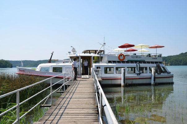 Bootsfahrt auf dem Schermützelsee