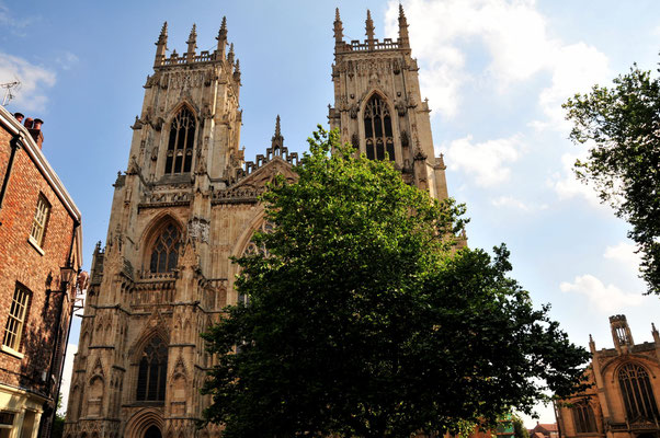 York Minster Westfassade