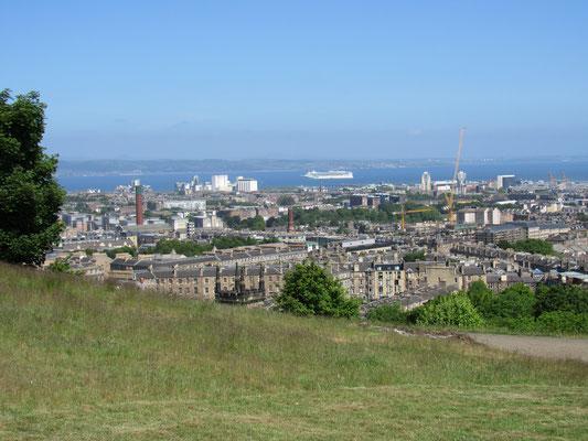 Edinburgh - Blick vom Calton Hill