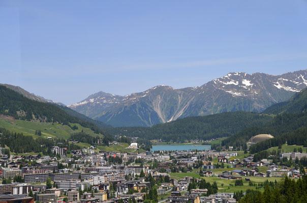 12 Blick vom Jakobshorn auf Davos