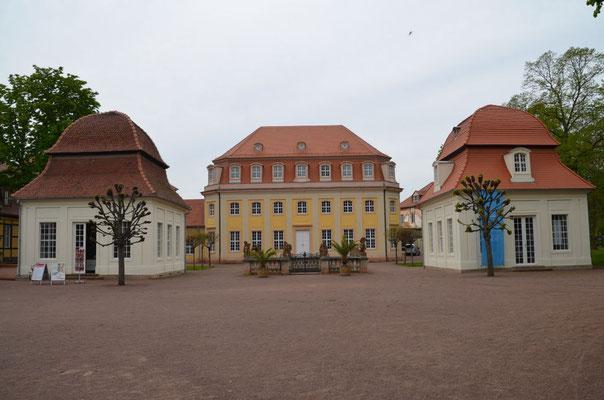 Historische Kuranlagen in Bad Lauchstädt