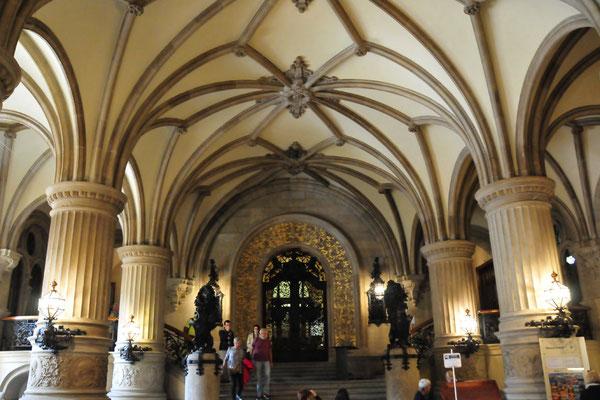 Foyer im Rathaus