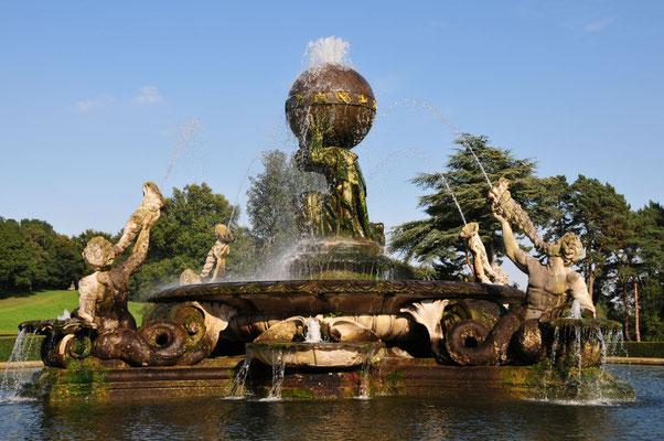 Atlas Fountain, Castle Howard
