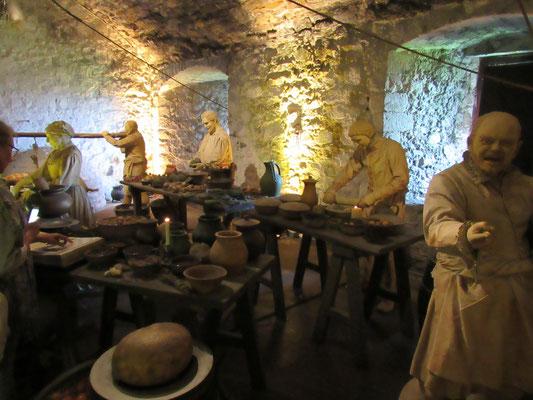 Stirling Castle - Küchen im Gewölbekeller