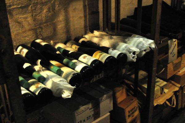 15 Flaschenlager im Ratskeller