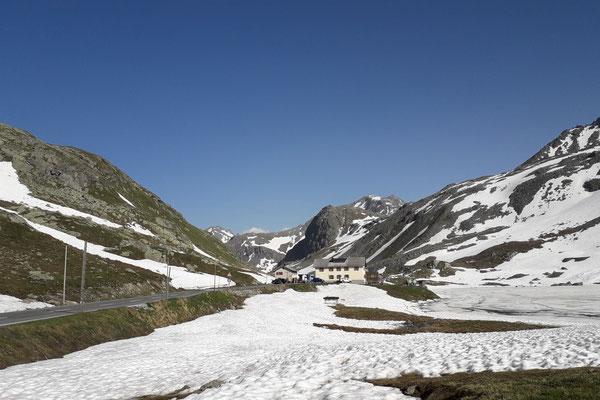 20 Flüela-Pass, 2383 m hoch
