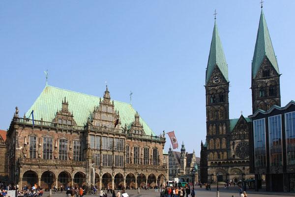 08 Rathaus und St Petri-Dom