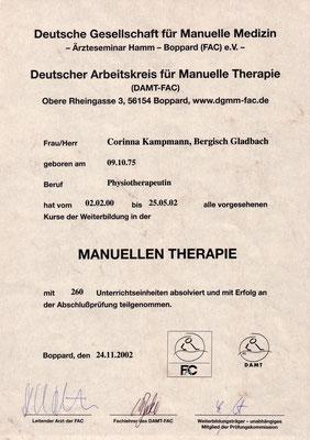Corinna Setzer - Heilpraktikerin, Osteopathin & Coach