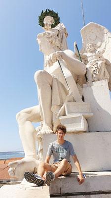 Torbie auf dem Arco Monumental