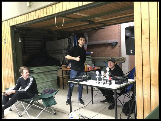 Garage der Turnierleitung