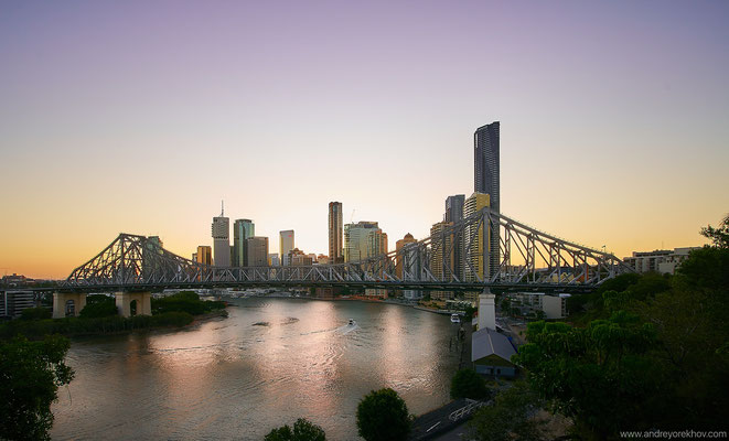 Sunset in Brisbane