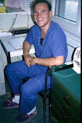 Als Pfleger in der Anästhesie 1991
