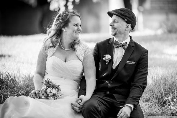 Brautpaar an der Mühle Schulze Westerath